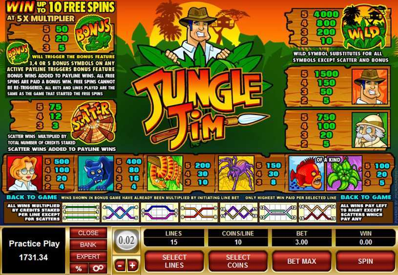 Jungle Jim     Spielen